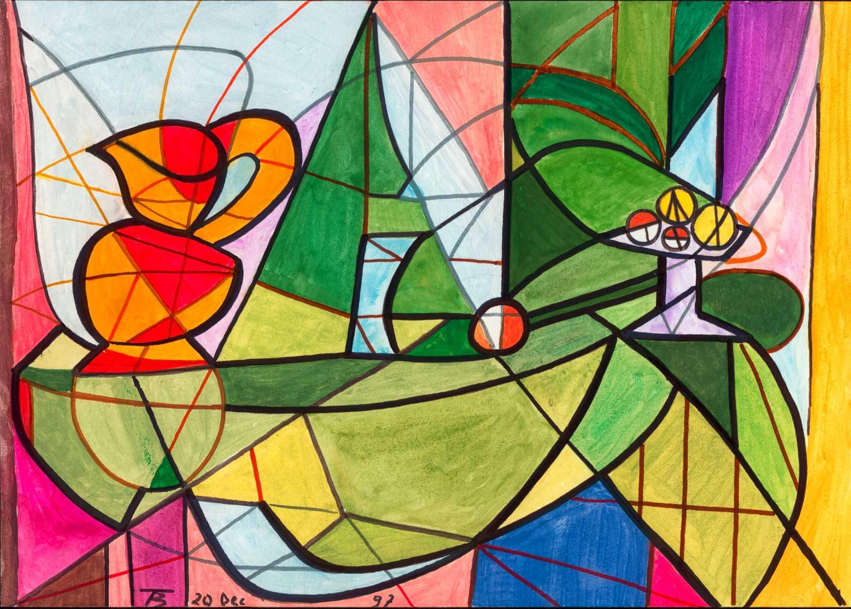 Picasso : les natures mortes dans l\'oeuvre de l\'artiste espagnol