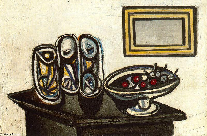 PABLO-PICASSO-STILL-LIFE-WITH-CHERRIES