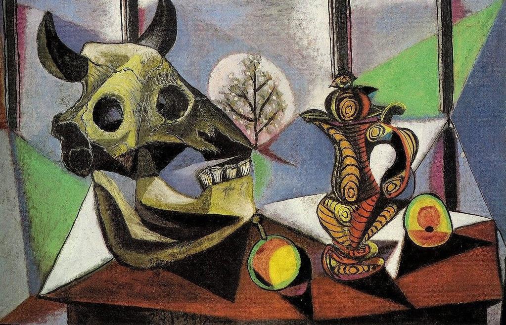 Pablo Picasso - Nature morte - corbeille de fruits
