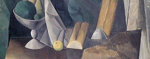 Corbeille de fruits Picasso - période bleue
