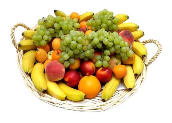 Vos corbeilles de fruits en Avril