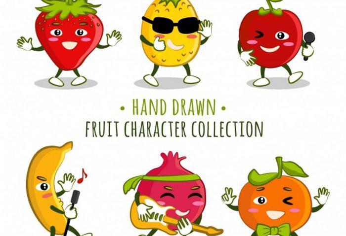 Fruits en e et légumes en e