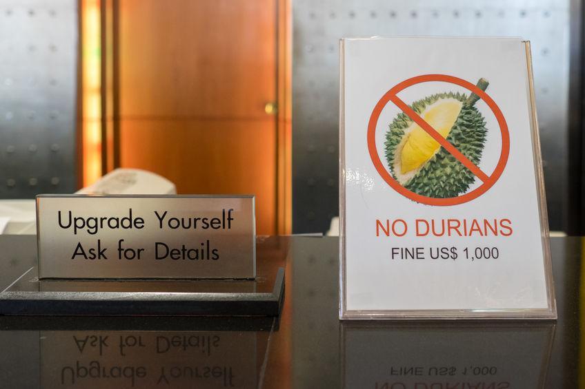 hotel interdisant le durian