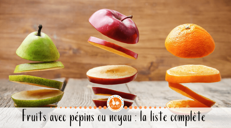 fruits à pépins