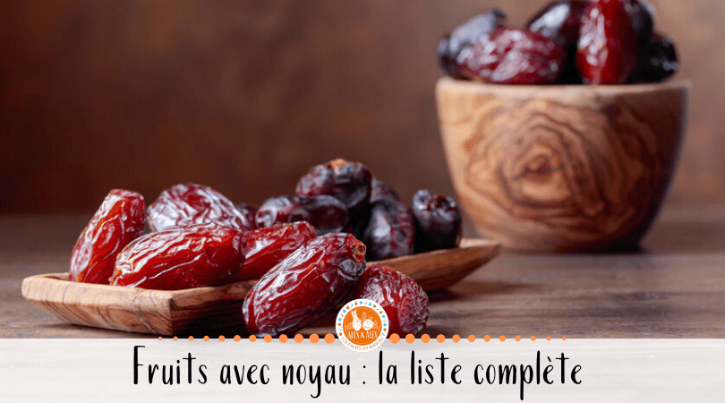 fruits à noyau
