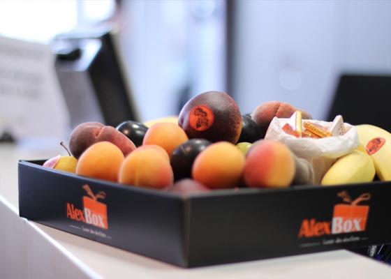 Vos paniers de fruits au bureau en février