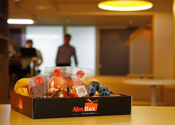 Vos paniers de fruits au bureau en Mars