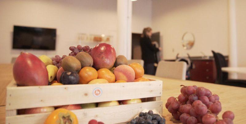 Vos paniers de fruits au bureau en Août