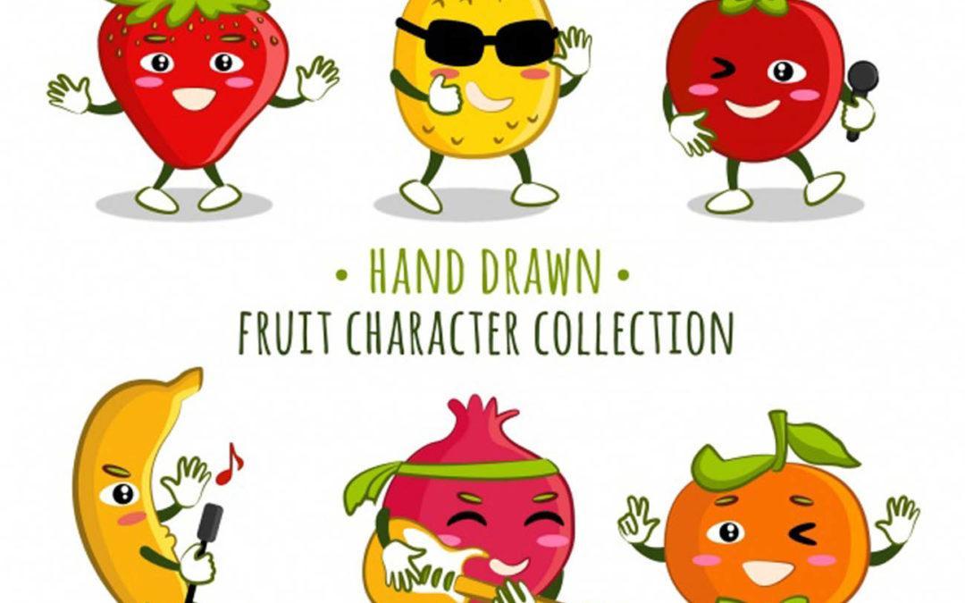 Fruits en c et légumes en c