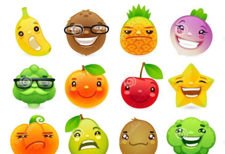 Fruits en v et légumes en v