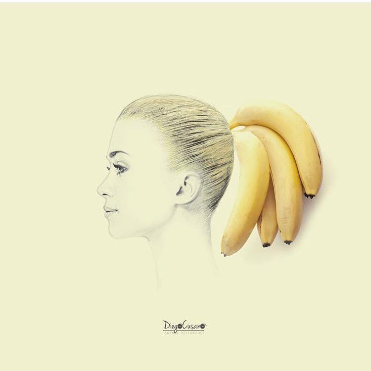 Juillet 2017 - Banana hairstyle