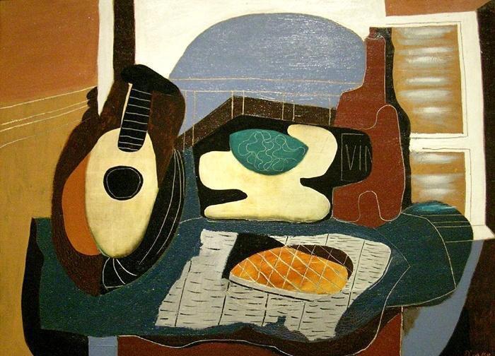 mandoline-panier-de-fruits-bouteille-et-patisserie-1924bis