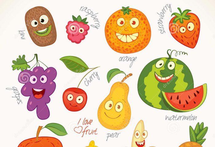 Fruits en i et légumes en i