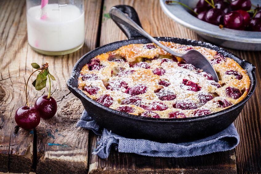 clafoutis aux griottes facon grand mere