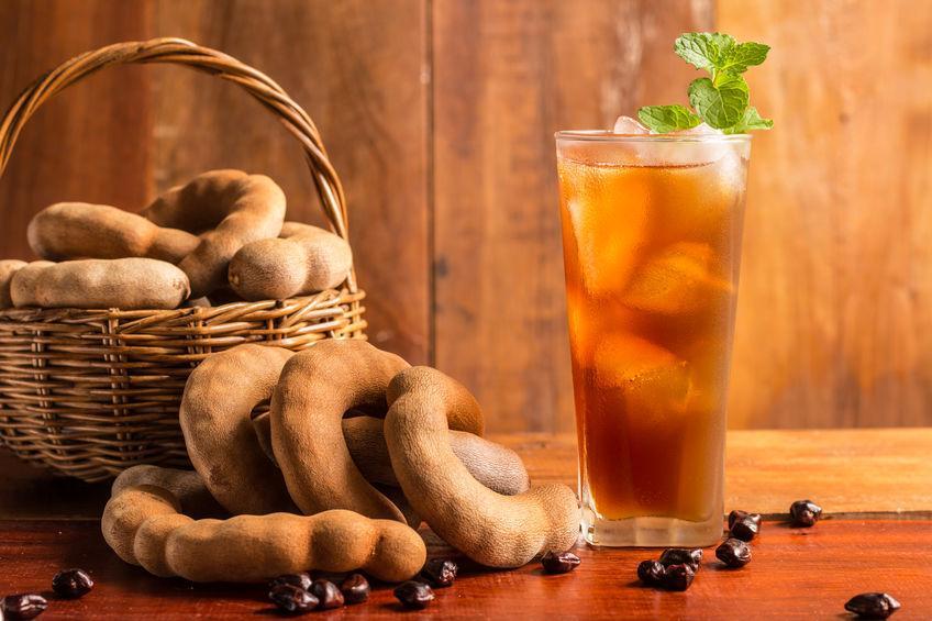 verre de jus de tamarin bien frais
