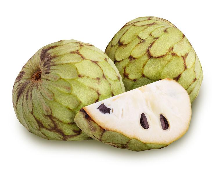 cherimoya fruit au multiples bienfaits