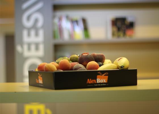 Vos paniers de fruits au bureau en Novembre