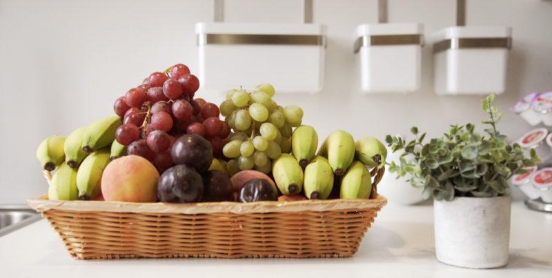Vos paniers de fruits au bureau en Janvier