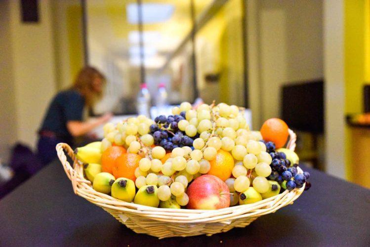 Vos paniers de fruits au bureau en Décembre