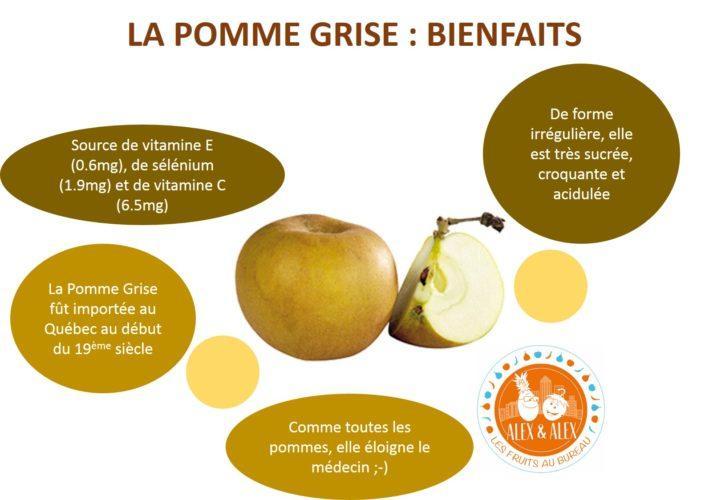La Pomme Grise : les bienfaits d'un fruit fièrement canadien !