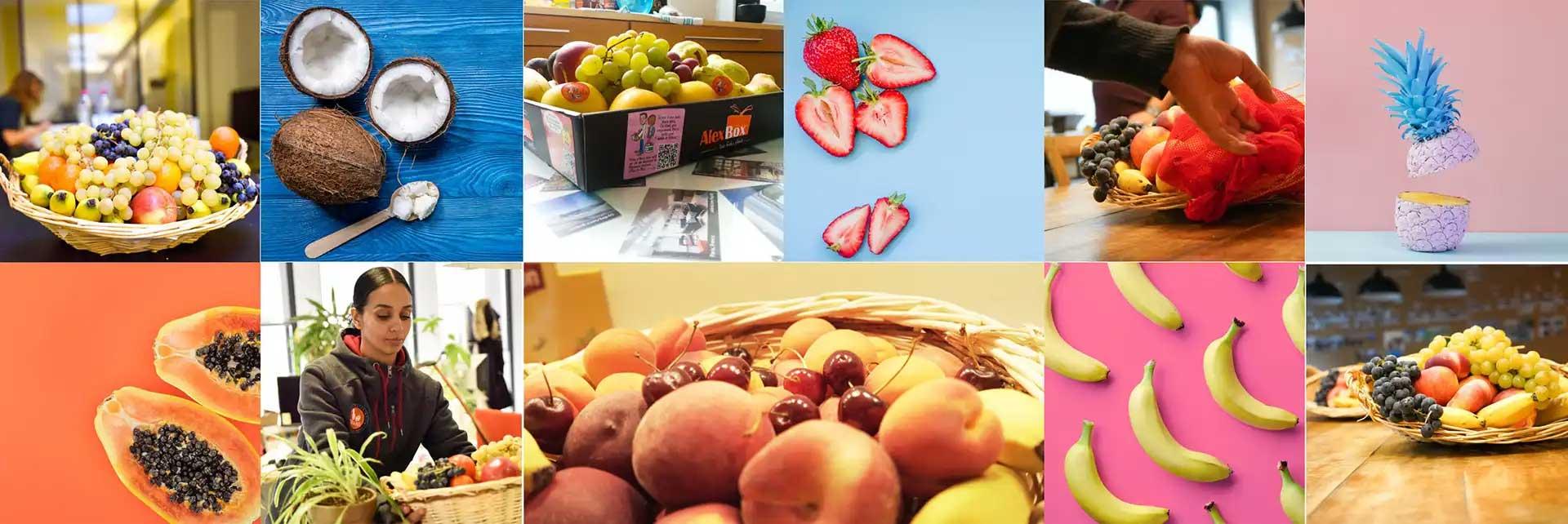 Service de livraison de corbeilles de fruits au bureau pour les entreprises à Paris